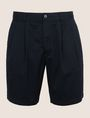 ARMANI EXCHANGE RELAXED-FIT PLEAT-FRONT SHORT Short Man r