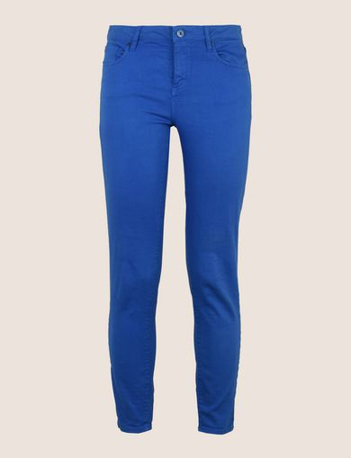 COLORFUL CROPPED SUPER-SKINNY JEANS