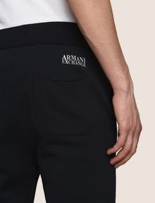 ARMANI EXCHANGE LOGO DRAWCORD SWEATPANT Fleece Pant Man b