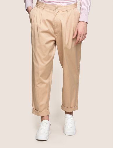 RELAXED-FIT PLEAT-FRONT PANT