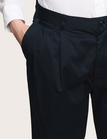 ARMANI EXCHANGE RELAXED-FIT PLEAT-FRONT PANT Classic pants Man b