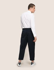 ARMANI EXCHANGE RELAXED-FIT PLEAT-FRONT PANT Classic pants Man e