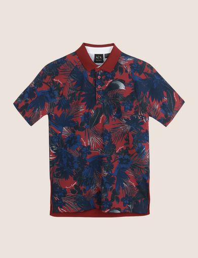 TROPICAL FLORAL POLO