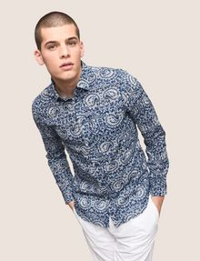 ARMANI EXCHANGE PAISLEY PRINT SHIRT Long sleeve shirt Man a