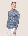 ARMANI EXCHANGE PAISLEY PRINT SHIRT Long sleeve shirt Man f
