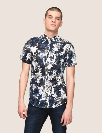 FADED TROPICAL FLORAL SHIRT