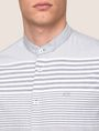 ARMANI EXCHANGE VARIEGATED STRIPE REGULAR-FIT SHIRT Long-Sleeved Shirt Man b