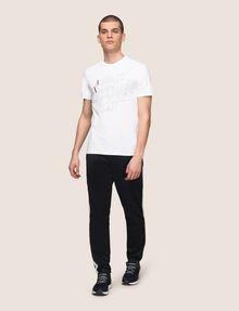 ARMANI EXCHANGE CLASSIC SERIF OUTLINE TEE Logo T-shirt Man d