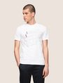 ARMANI EXCHANGE CLASSIC SERIF OUTLINE TEE Logo T-shirt Man f