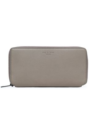 RAG & BONE Textured-leather wallet