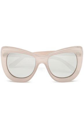 LE SPECS Cat-eye acetate sunglasses