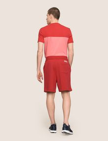 ARMANI EXCHANGE LOGO DRAWCORD SWEAT SHORT Fleece Short [*** pickupInStoreShippingNotGuaranteed_info ***] e