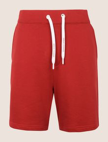 ARMANI EXCHANGE LOGO DRAWCORD SWEAT SHORT Fleece Short [*** pickupInStoreShippingNotGuaranteed_info ***] r