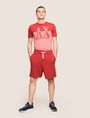 ARMANI EXCHANGE LOGO DRAWCORD SWEAT SHORT Fleece Short [*** pickupInStoreShippingNotGuaranteed_info ***] d