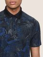 ARMANI EXCHANGE TROPICAL FLORAL POLO SHORT SLEEVES POLO [*** pickupInStoreShippingNotGuaranteed_info ***] b