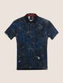ARMANI EXCHANGE TROPICAL FLORAL POLO SHORT SLEEVES POLO Man r