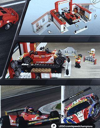 Scuderia Ferrari Online Store - Taller Ferrari LEGO® Speed Champions - Juegos de construcción
