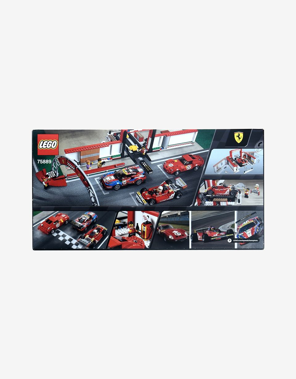 Scuderia Ferrari Online Store - LEGO® Speed Champions Ferrari Garage - Building Sets
