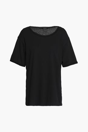 KORAL Cotton-blend jersey T-shirt