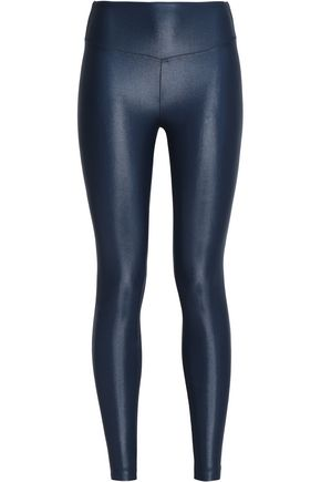 KORAL Coated stretch leggings