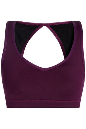 KORAL Open-back stretch sports bra