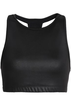 KORAL Coated stretch sports bra