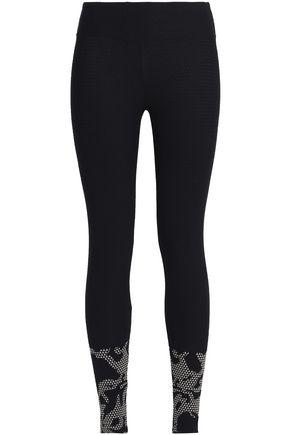 KORAL Stretch-jacquard leggings