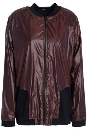 KORAL Mesh-paneled cutout shell jacket