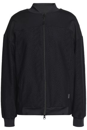 KORAL Paneled stretch and jacquard jacket