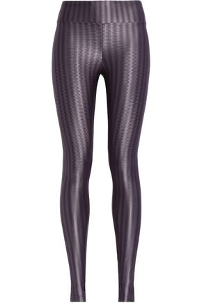 KORAL Lustrous printed stretch leggings