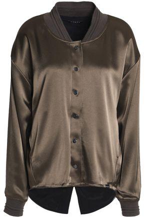 KORAL Satin bomber jacket