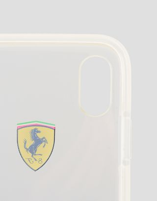 Scuderia Ferrari Online Store - iPhone X 透明手机壳 - Cover&Other Small Leather Good