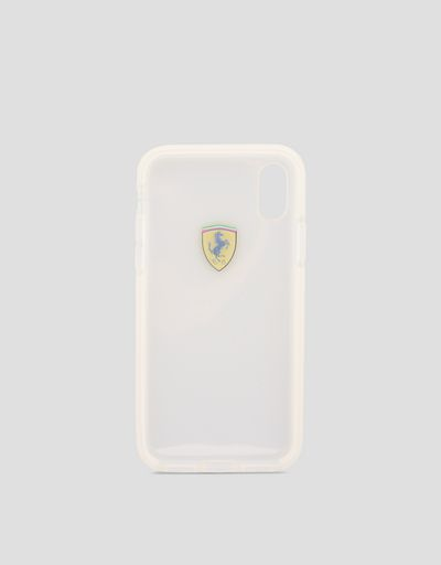 Clear iPhone X case