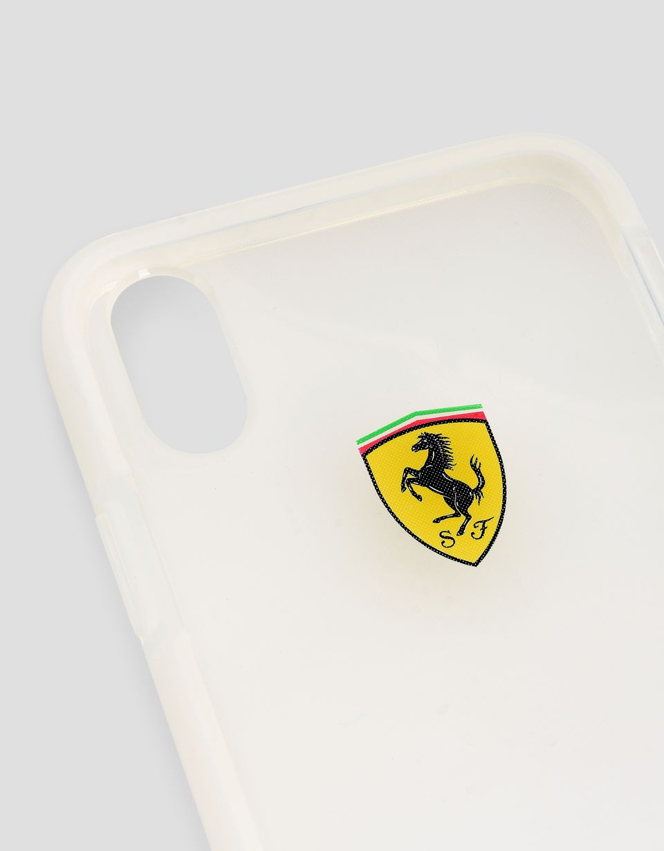 Scuderia Ferrari Online Store - Clear iPhone X case -