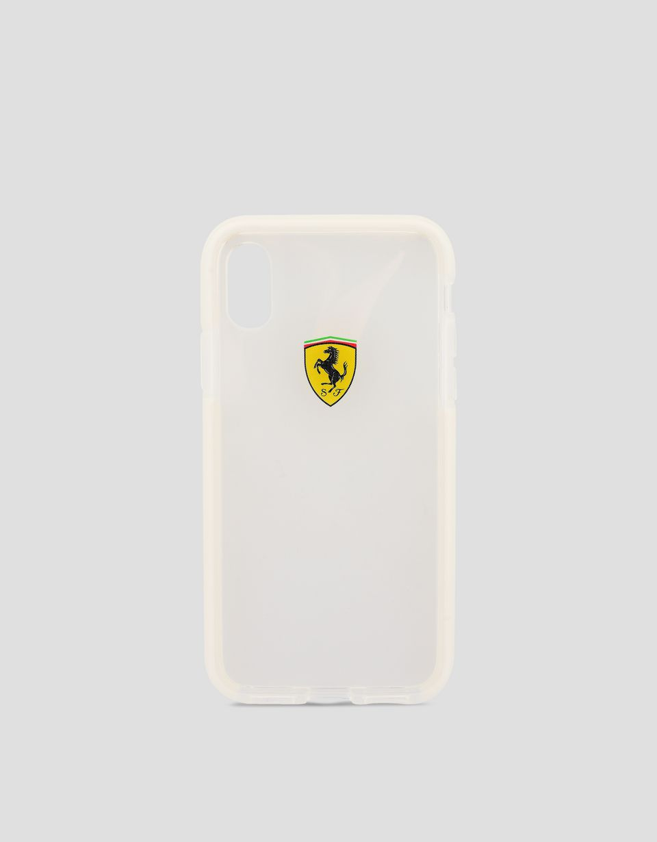 Scuderia Ferrari Online Store - Clear iPhone X case - Cover&Other Small Leather Good