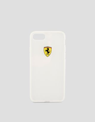 Scuderia Ferrari Online Store - Clear iPhone 8 case - Cover&Other Small Leather Good