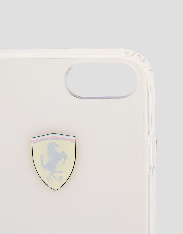 Scuderia Ferrari Online Store - iPhone 8 透明手机壳 - Cover&Other Small Leather Good