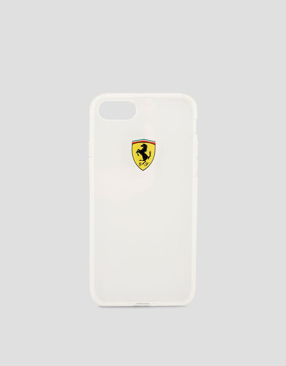 Scuderia Ferrari Online Store - Transparentes Cover für iPhone 8 - Cover&Other Small Leather Good