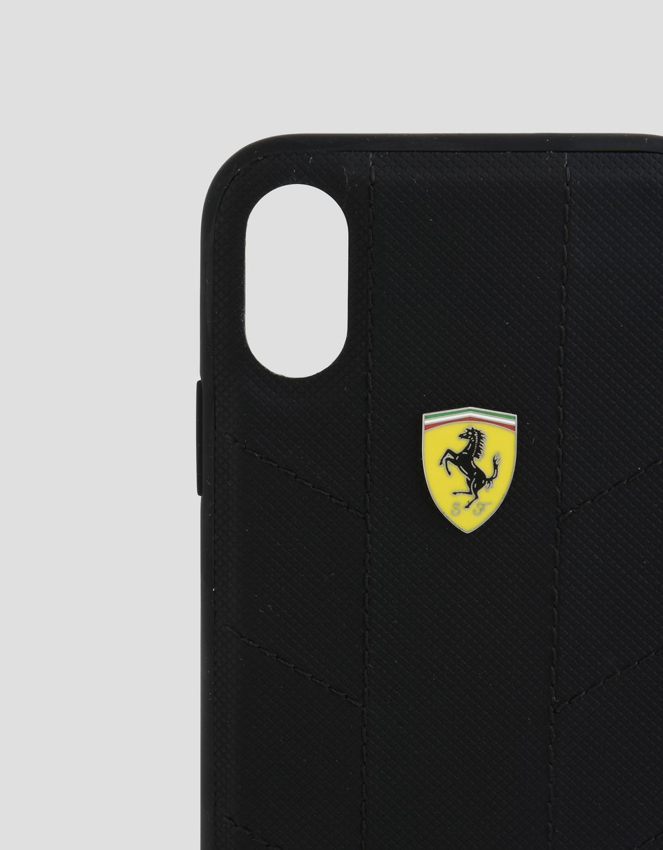 Scuderia Ferrari Online Store - Cover aus weichem Stoff für iPhone X - Cover&Other Small Leather Good