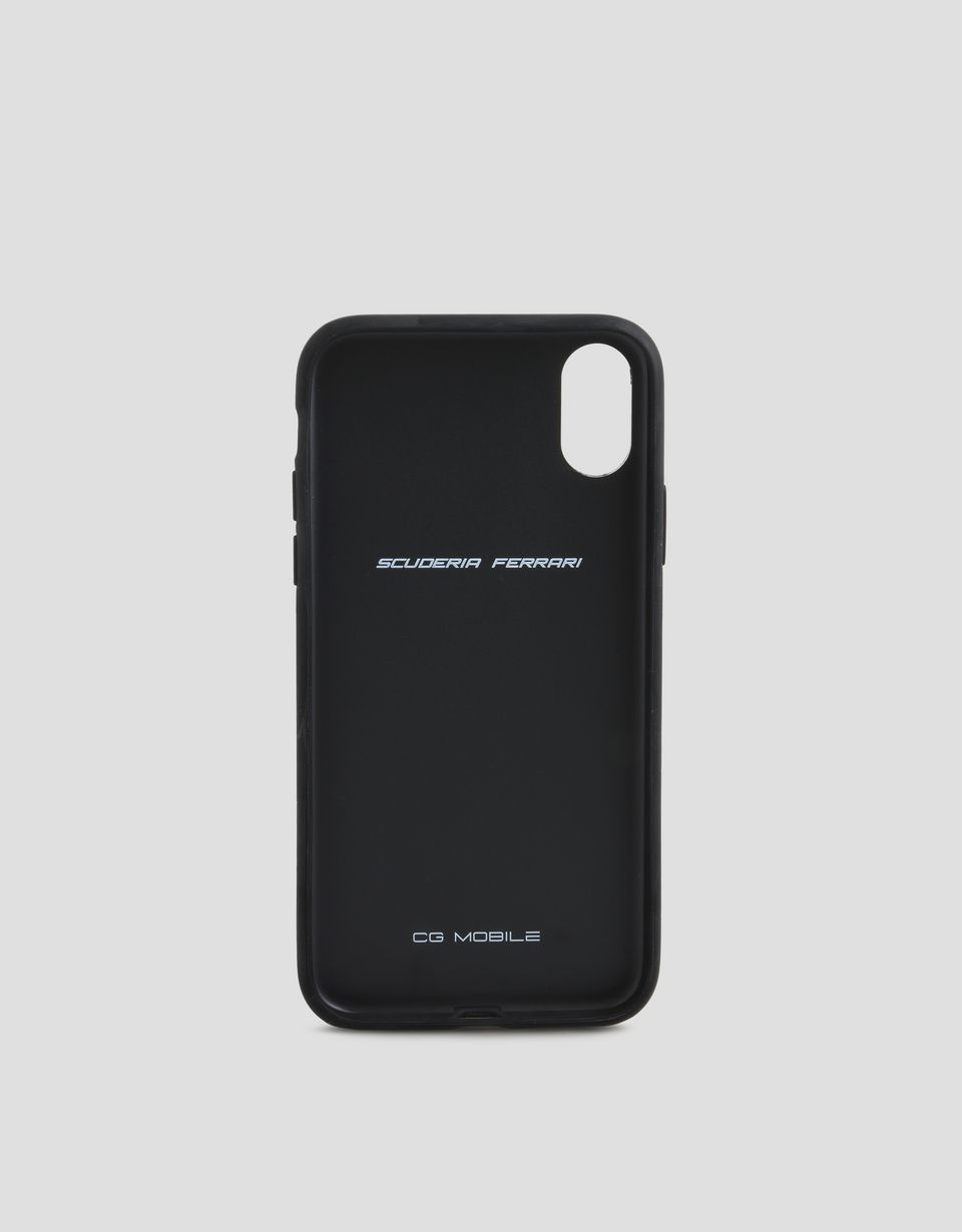 Scuderia Ferrari Online Store - Cover in tessuto morbido per iPhone X -
