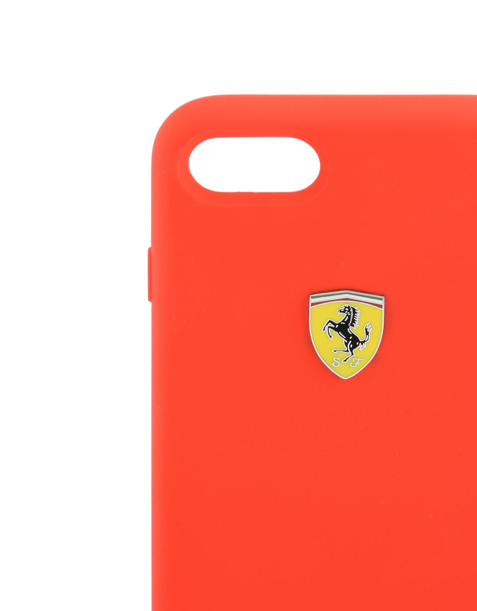Scuderia Ferrari Online Store - Red silicone case for iPhone 8 -