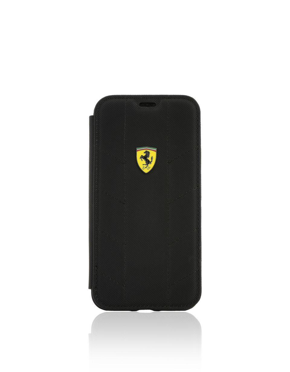 Scuderia Ferrari Online Store - Чехол-книжка из экокожи для iPhone X - Cover&Other Small Leather Good
