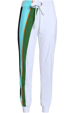 NO KA 'OI Color-block stretch track pants