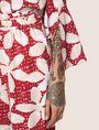 ARMANI EXCHANGE FLORAL DOT PRINT WIDE-LEG PANT Culotte Woman b