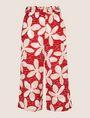 ARMANI EXCHANGE FLORAL DOT PRINT WIDE-LEG PANT Culotte Woman r
