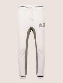 ARMANI EXCHANGE COLORBLOCK INSET LOGO JOGGER Fleece Pant Man r