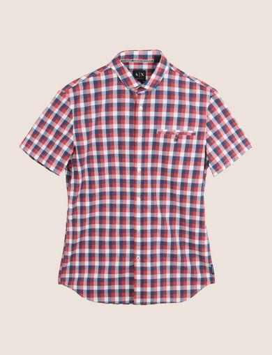 SHORT-SLEEVE WELT POCKET SHIRT