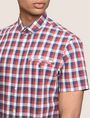 ARMANI EXCHANGE SHORT-SLEEVE WELT POCKET SHIRT Short sleeve shirt Man b