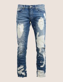 ARMANI EXCHANGE SLIM-FIT ULTRA-BLEACHED INDIGO JEAN SLIM FIT JEANS Man r