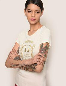 ARMANI EXCHANGE T-shirt con logo Donna a